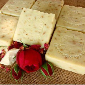 Avokádó-rózsa szappan