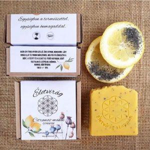Citromos-mákos szappan